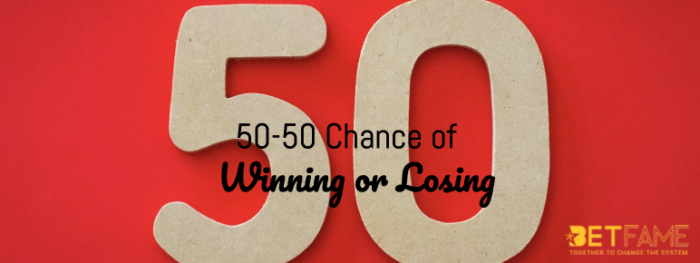 50-50 Chance of Winning or Losing blog post image