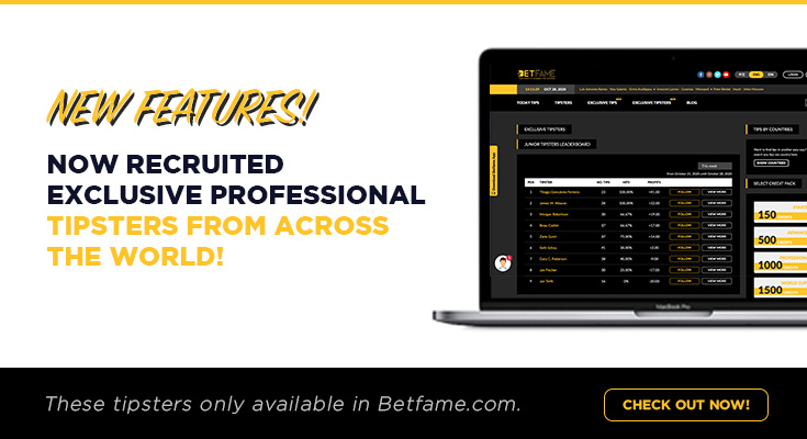 BetFame Exclusive Tipsters