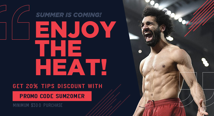 Summer Is Coming! Enjoy the heat! Get 20% tips discount with Minimum $300 purchase
