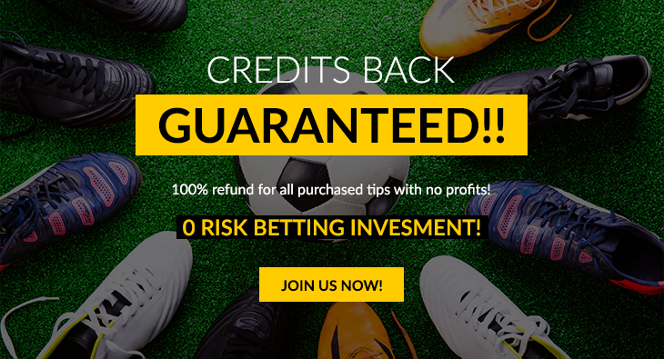 Credits back guaranteed