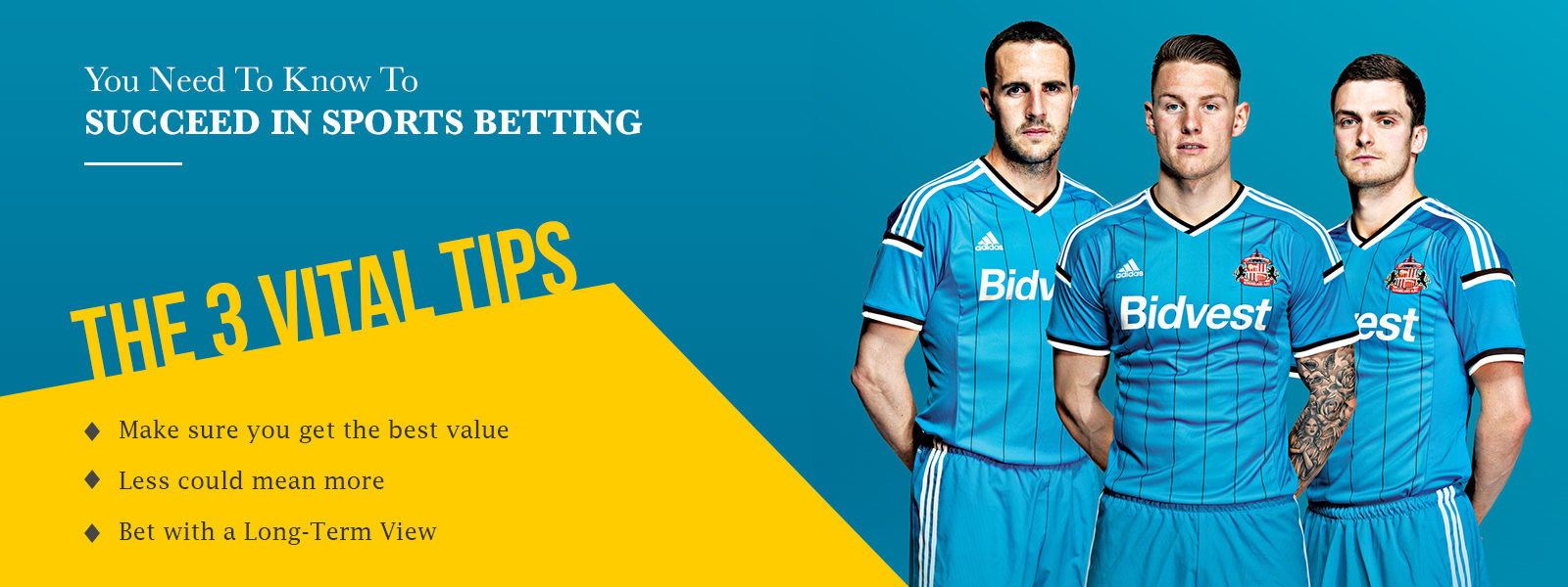 The Three Vital Tips You Need To Know To Succeed In Sports Betting