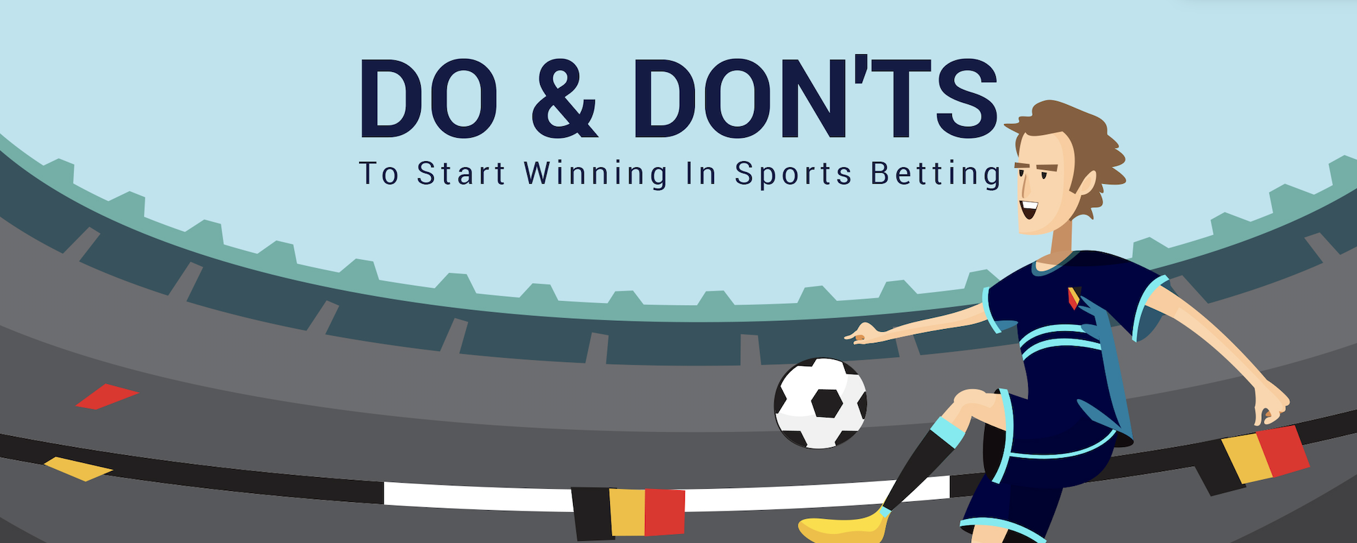 [Infographic] DOs & DONTs to Start Winning In Sports Betting