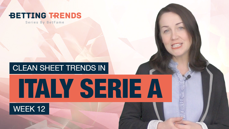Betting Trends | Clean Sheet Trends In Italy Serie A Week