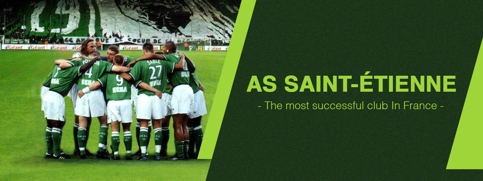 AS Saint-Etienne - The Most Successful Club In France