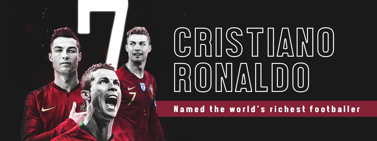 Cristiano Ronaldo Named The World's Richest Footballer