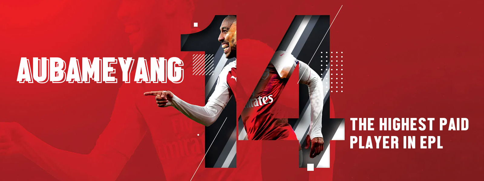 Pierre-Emerick Aubameyang - The Highest Paid Player In EPL