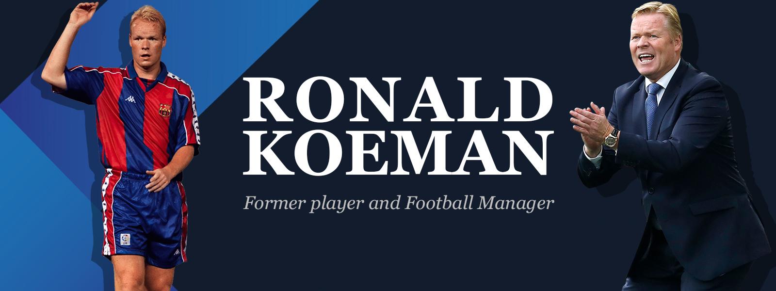 Dutch Football Manager Ronald Koeman