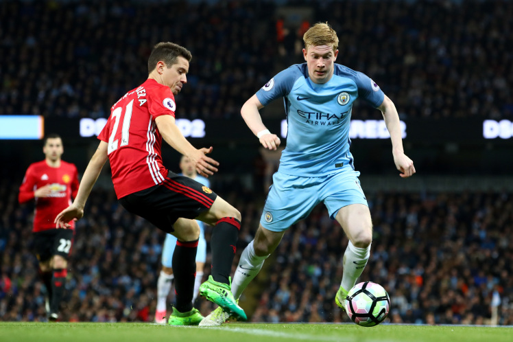 Man City vs Man United: The Battle of Manchester