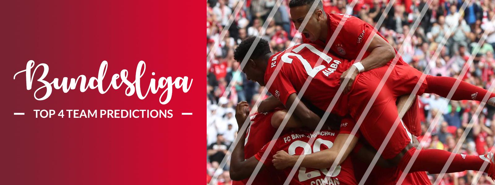 Germany Bundesliga 2019 / 2020 Predictions