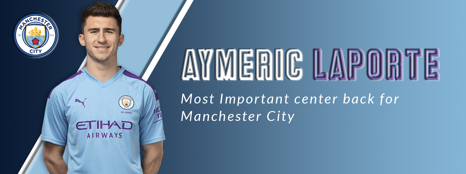 Aymeric Laporte - Most Important Center Back For Manchester City