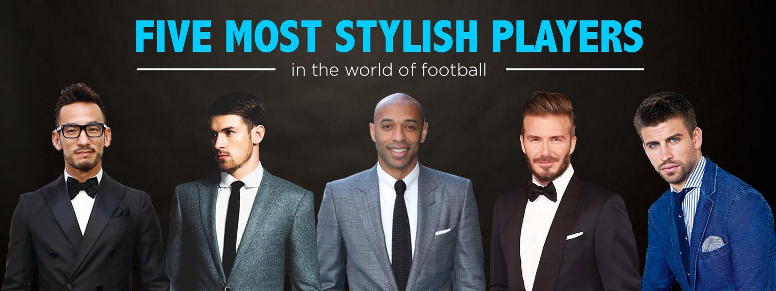 Five most stylish players in the world of football