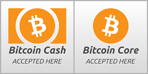 Bitcoin cash / bitcoin core payment method